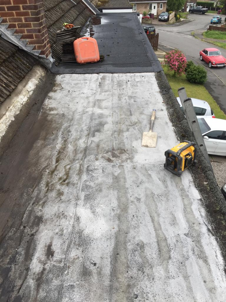 sheffield flat roofing job